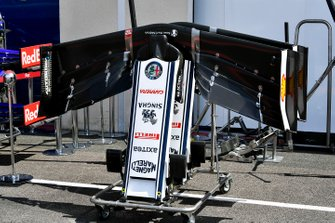 Ala anteriore dell'Alfa Romeo Racing C38