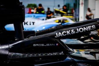 Wagen van Romain Grosjean, Haas F1 Team VF-19
