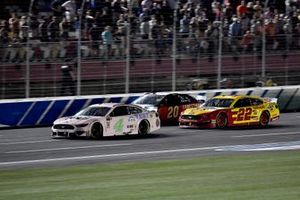 Kevin Harvick, Stewart-Haas Racing, Ford Mustang Busch Beer Millennial Car and Joey Logano, Team Penske, Ford Mustang Shell Pennzoil