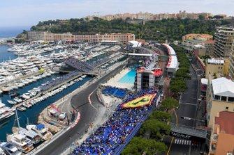 Huge crowd support for Ferrari