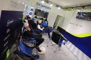 TF Sport garage atmosphere