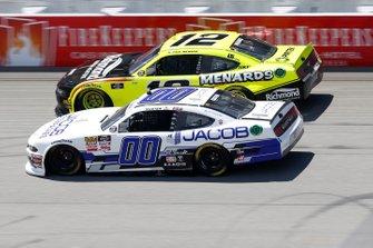 Cole Custer, Stewart-Haas Racing, Ford Mustang Jacob Companies Paul Menard, Team Penske, Ford Mustang Menards/Richmond