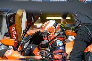 #26 G-Drive Racing Oreca 07 Gibson: Job Van Uitert