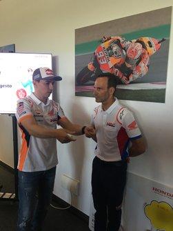 Jorge Lorenzo y Alberto Puig, Repsol Honda