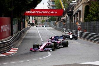 Sergio Perez, Racing Point RP19, Kimi Raikkonen, Alfa Romeo Racing C38