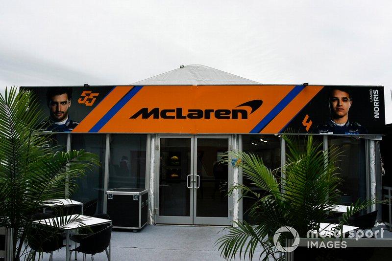 El hospitality de McLaren