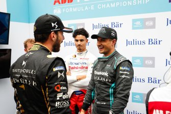 Jean-Eric Vergne, DS TECHEETAH, Pascal Wehrlein, Mahindra Racing, Mitch Evans, Panasonic Jaguar Racing
