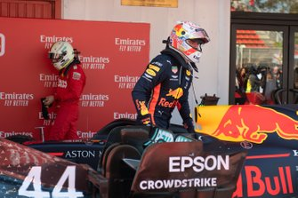 Max Verstappen, Red Bull Racing, 3e plaats, in Parc Ferme
