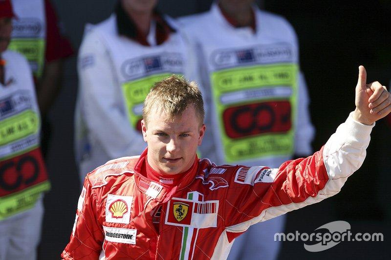 2007 Kimi Raikkonen, Ferrari