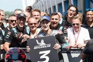 Обладатель третьего места Фабио Куартараро, Petronas Yamaha SRT