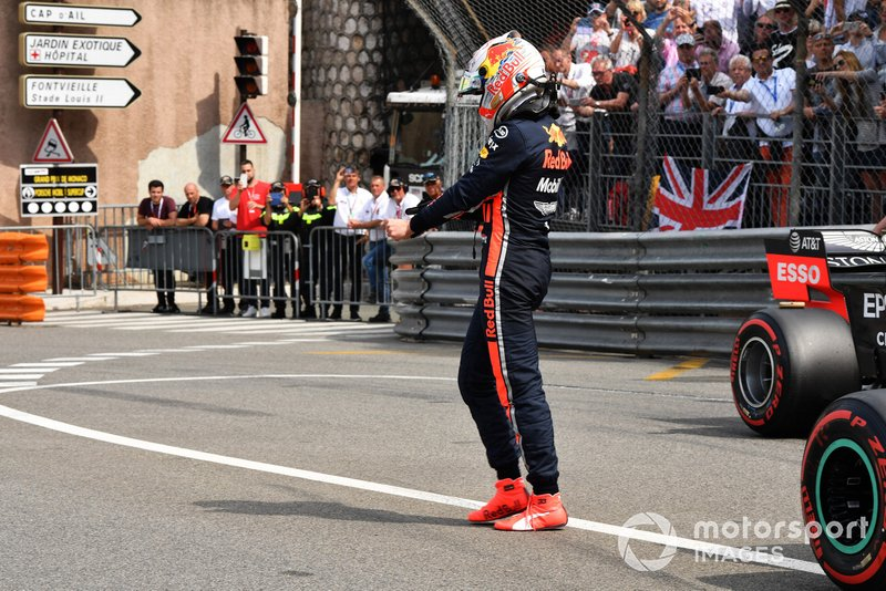 Max Verstappen, Red Bull Racing, in griglia di partenza dopo le Qualifiche