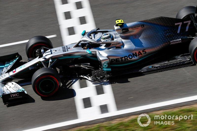 1: Valtteri Bottas, Mercedes AMG W10, 1'15.406