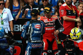 Michael van der Mark, Pata Yamaha, Alvaro Bautista, Aruba.it Racing-Ducati Team