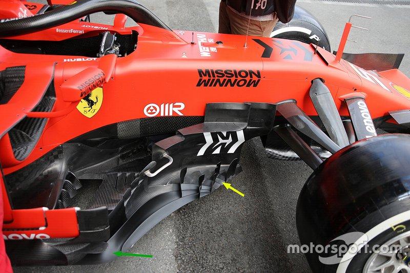 Ferrari teknik detay