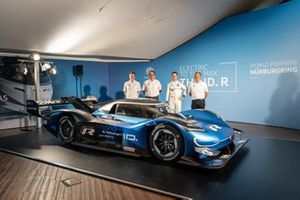 Prototype VW I.D. R pour tenter le record de la Nordschleife, avec Romain Dumas