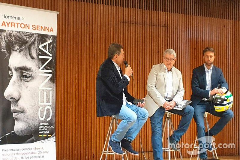 Presentación libro Senna José María Rubio