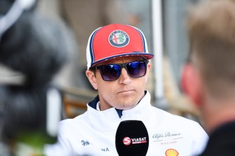 Kimi Raikkonen, Alfa Romeo Racing medya ile