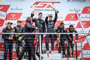 Podio #4 BLACK FALCON Mercedes-AMG GT3: Luca Stolz, Maro Engel