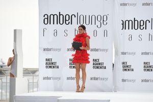 Natalie Pinkhamat the Amber Lounge Fashion Show