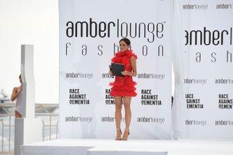 Natalie Pinkham at the Amber Lounge Fashion Show