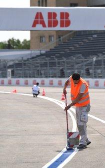 Marshals on track