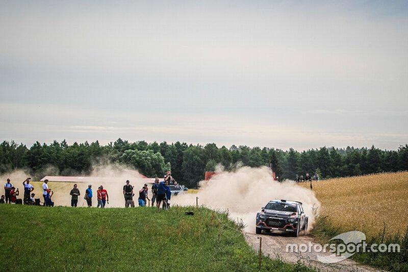 Alexey Lukyanuk, Alexey Arnautov, Citroen C3 R5, FIA ERC, Rally Poland