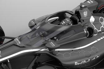 IndyCar-Cockpitschutz 2020: Aeroscreen von Red Bull
