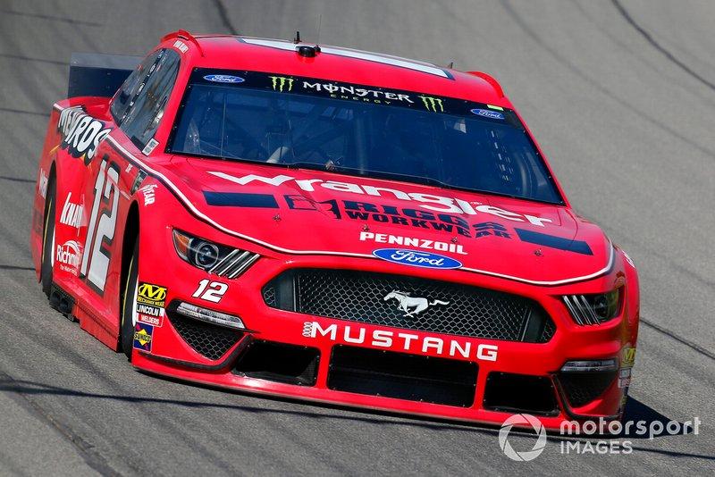 9. Ryan Blaney, Team Penske, Ford Mustang