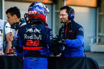 Daniil Kvyat, Toro Rosso, after Qualifying