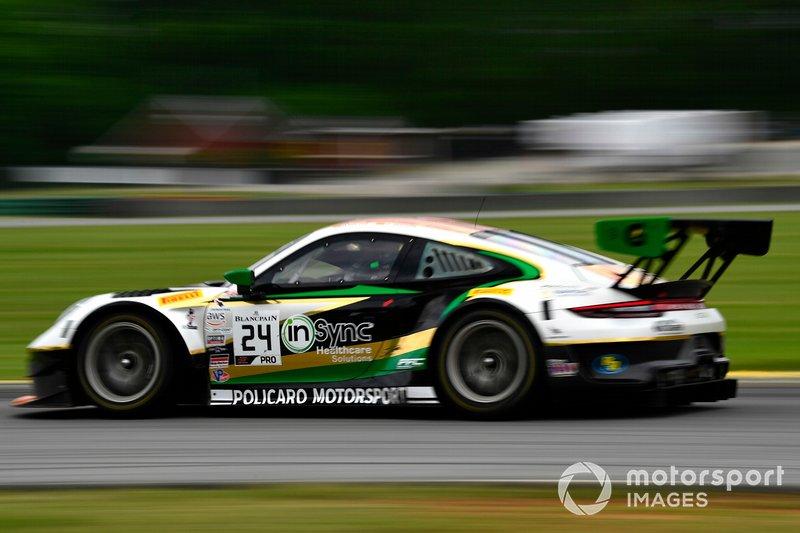 #24, Porsche 911 GT3 R (991), Wolf Henzler and Marco Holzer