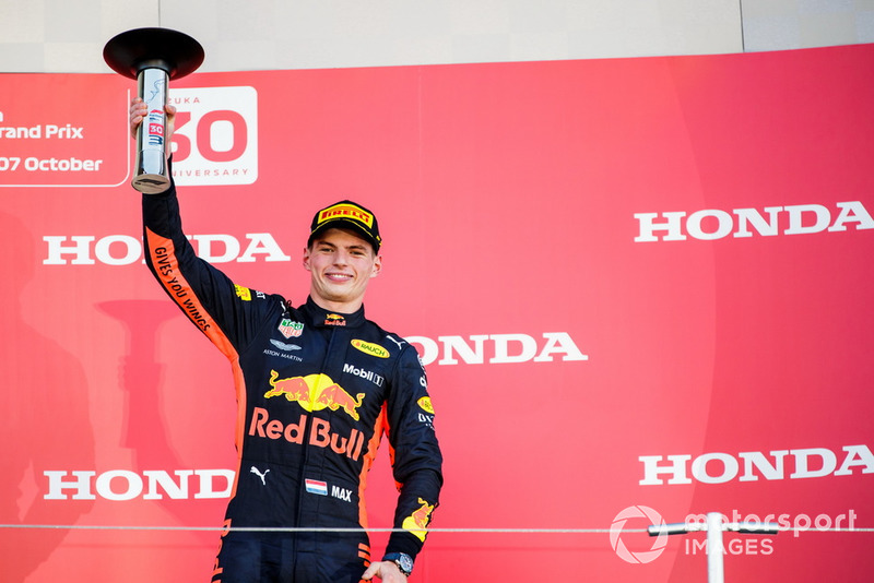 3e : Max Verstappen (Red Bull Racing)