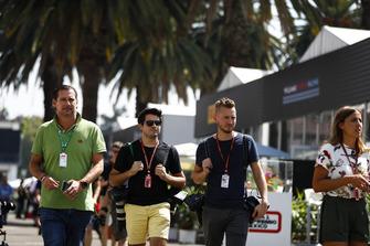 Фотографы Motorsport Images Зак Могер и Энди Хон