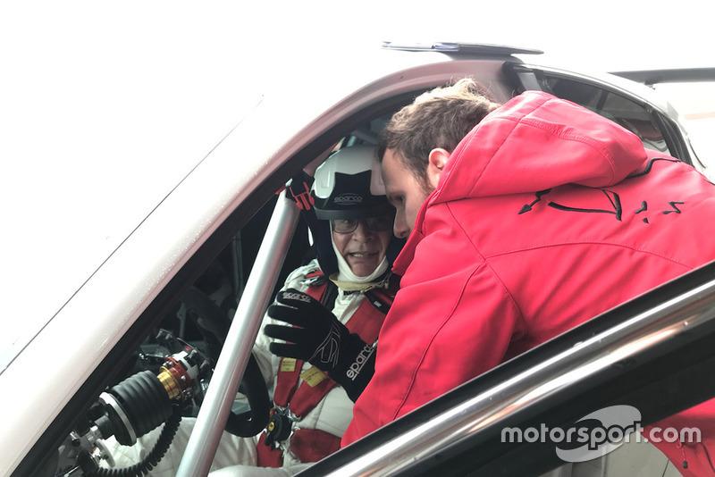 Franco Nugnes, direttore di Motorsport.com Italia, Alfa Romeo Giulietta TCR