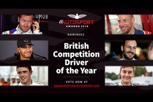 Pilote britannique de l'année