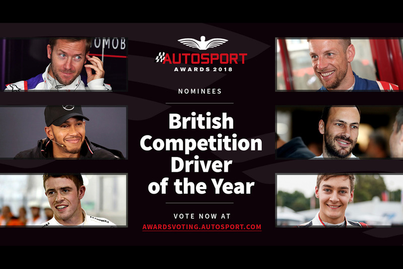 Autosport Awards 2018: British Competition Driver of the Year