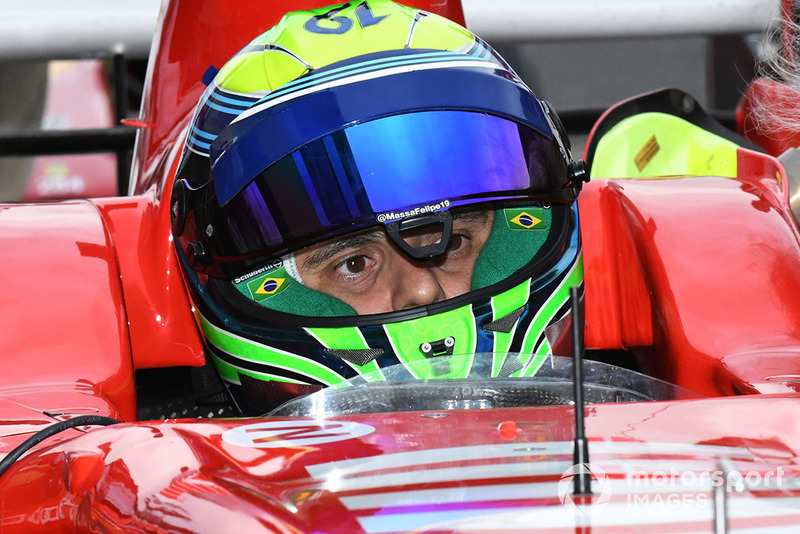 Felipe Massa, Ferrari en la exhibición con coches históricos por el 30 Aniversario de Suzuka en F1