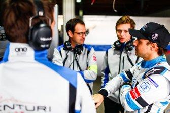 Felipe Massa, Venturi Formula E talks to Venturi engineers