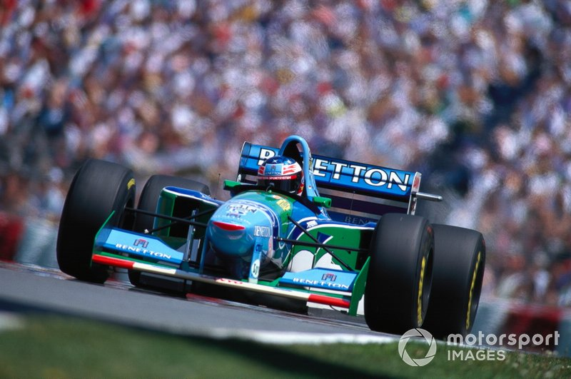 9º Benetton: 15 pole positions