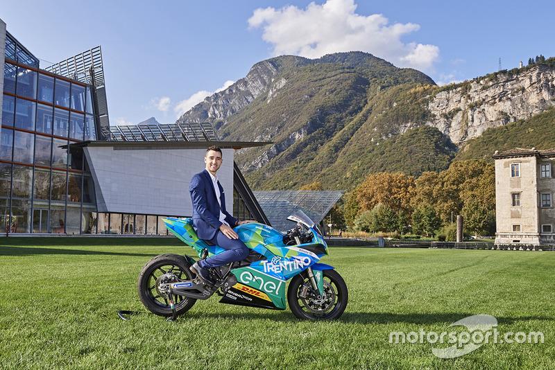 Team Gresini MotoE launch, Matteo Ferrari