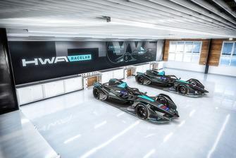 Onthulling HWA Racelab livery