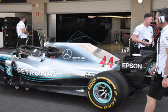 Mercedes-AMG F1 W09 detalle lateral