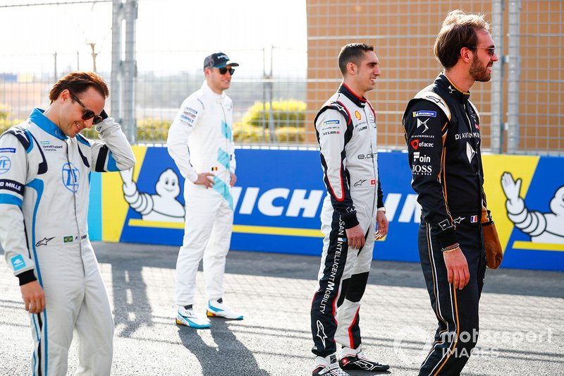 Felipe Massa, Venturi Formula E, Stoffel Vandoorne, HWA Racelab, Sébastien Buemi, Nissan e.Dams, Jean-Eric Vergne, DS TECHEETAH