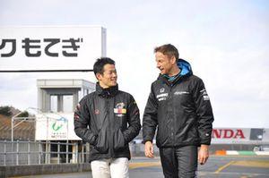 Yamamoto Naoki and Jenson Button