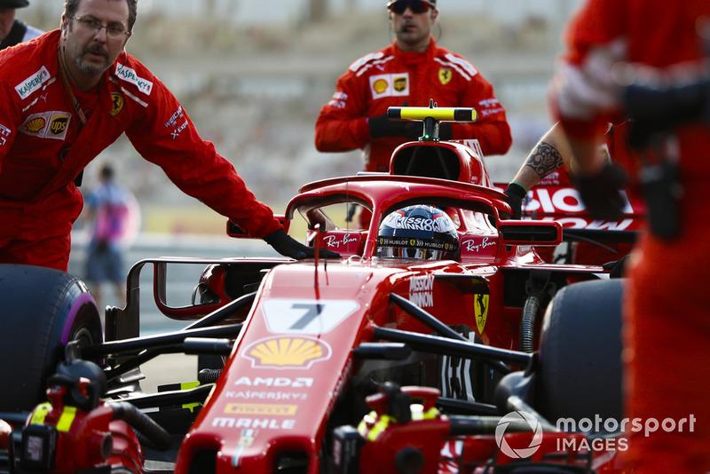 Kimi Raikkonen - Ferrari: 6 puan