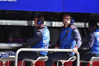 Командный мостик Scuderia Toro Rosso