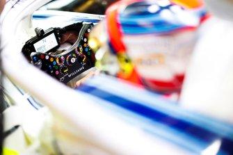 Robert Kubica, Williams Martini Racing, detalle del volante