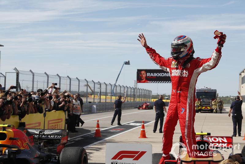 Победитель Кими Райкконен, Ferrari SF71H
