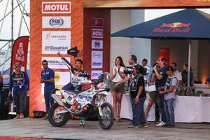 Podium: Klicen Ktm R2r Dakar Rally Team: Zhang Min