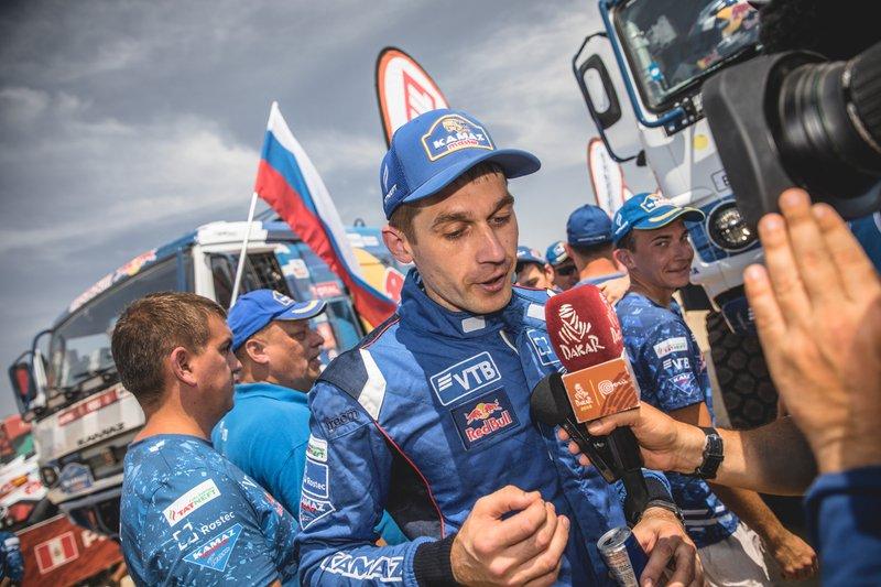 #514 Team Kamaz Master: Dmitry Sotnikov, Ilnur Mustafin, Dmitrii Nikitin