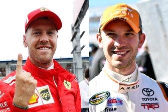 Sorteo Race of Champions, Sebastian Vettel, Daniel Suárez